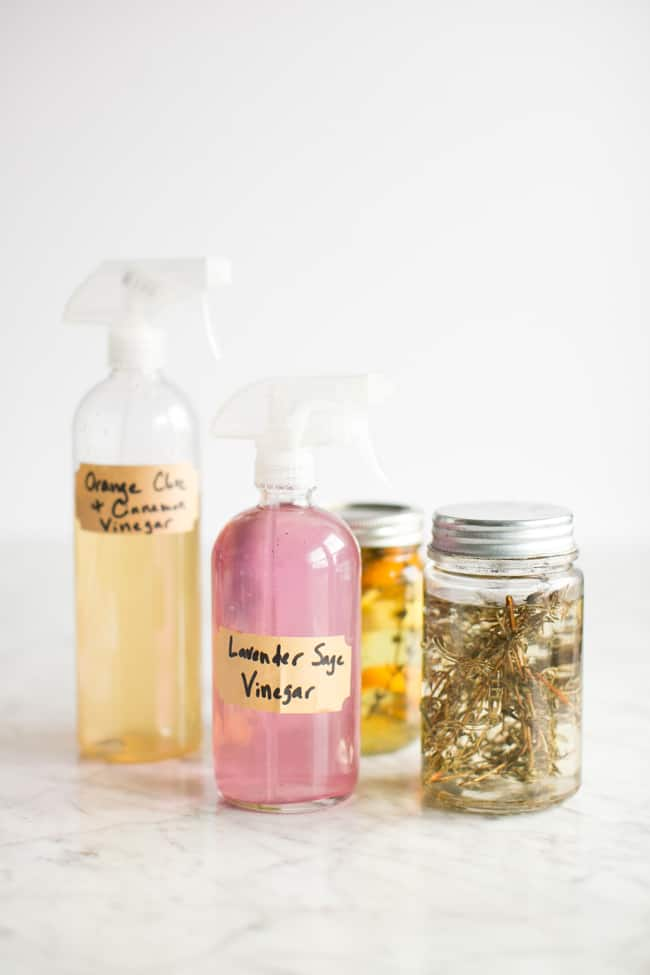 how to make vinegar cleaner spray