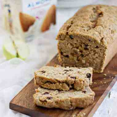 Vegan Spiced Apple Bread