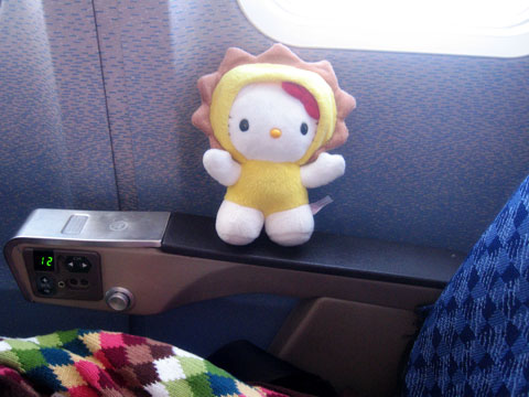 Hello Kitty = One Great Travel Companion