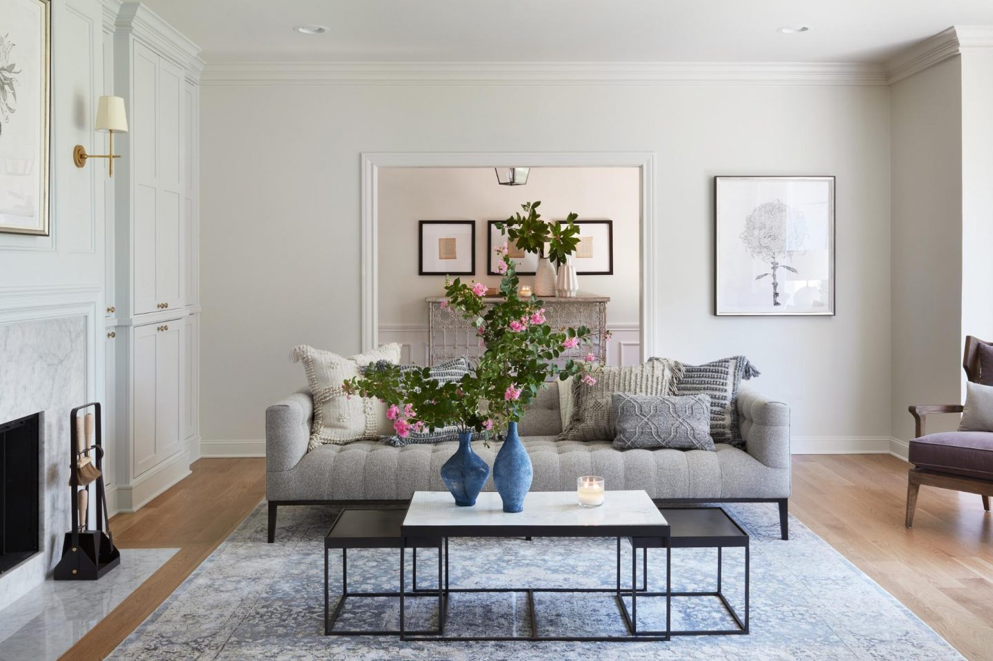Fixer Upper Club House Living Room Decor Get The Look Hello Lovely