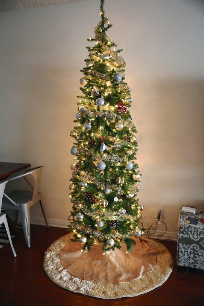 Pencil Slim Christmas Tree