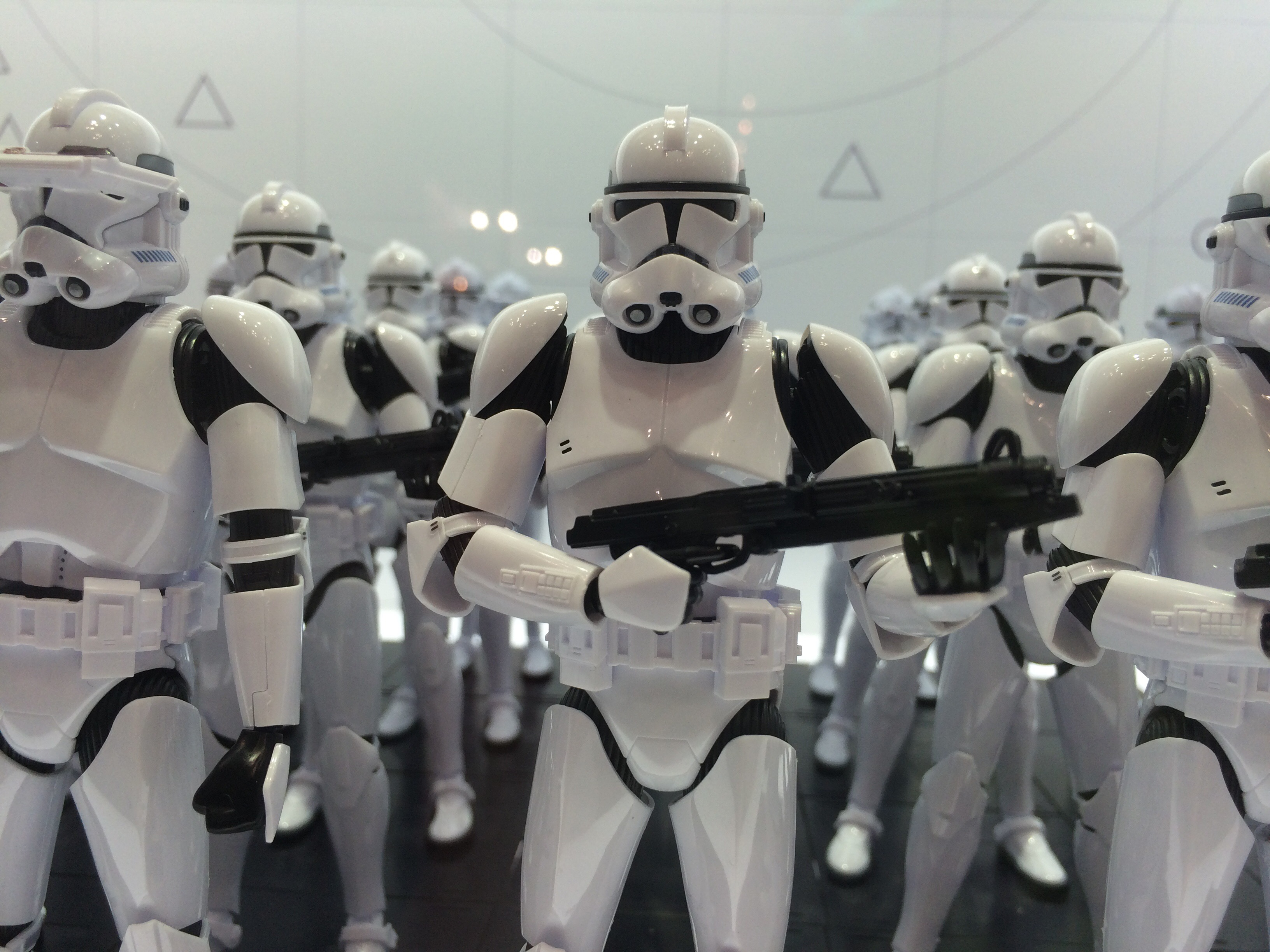 Clone Kit Tokyo International Toy Show Star Wars Hello My Name Is