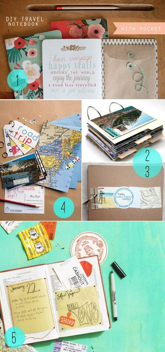 5 DIY Journals for Travelers | HelloNatural.co