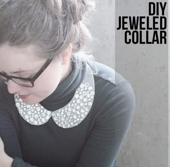 diy jeweled collar