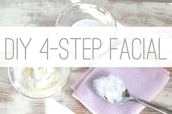 DIY 4-Step Facial