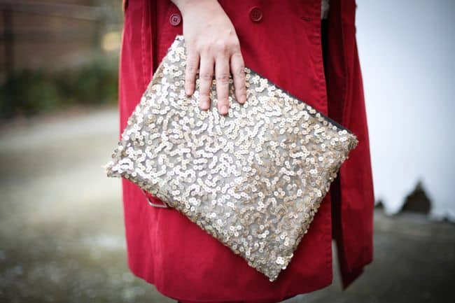 No Sew DIY Clutch