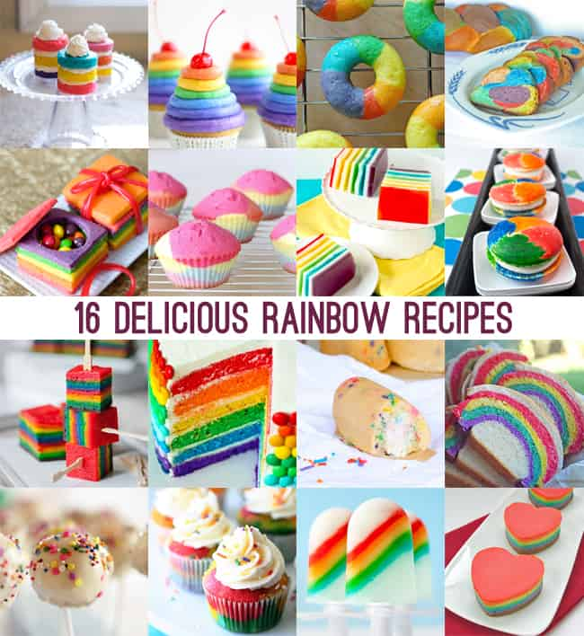rainbow recipes