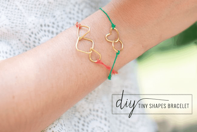 DIY Tiny Shapes Bracelets | Henry Happened