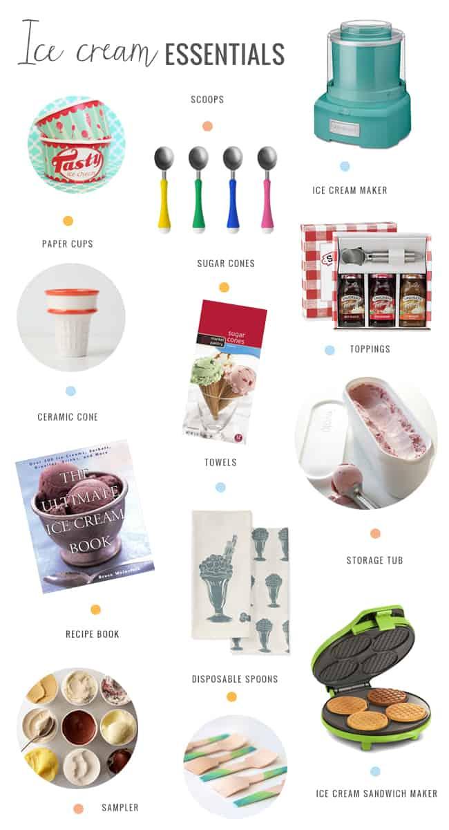 Ice Cream Essentials | Henry Happened