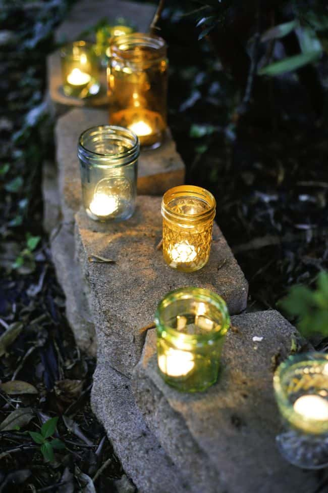 DIY Painted Glass Votives | Henry Happened