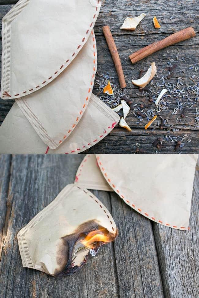 Homemade Firestarter | HelloNatural.co