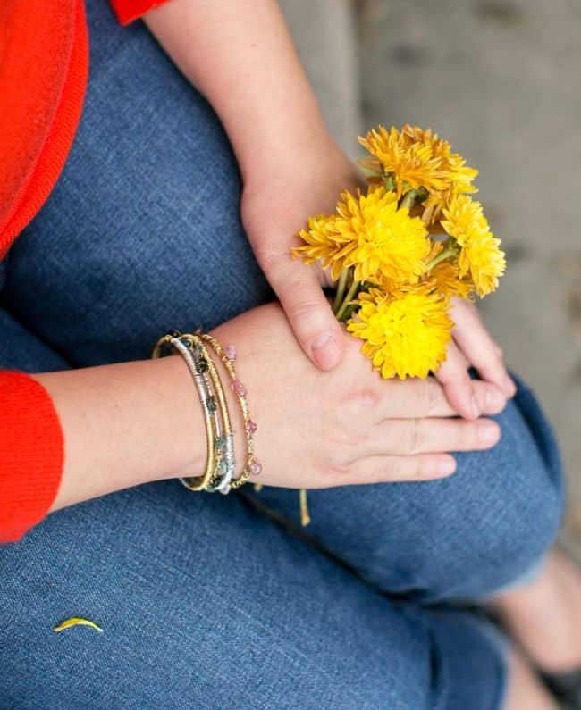 DIY Gold + Silver Bangles | Henry Happened
