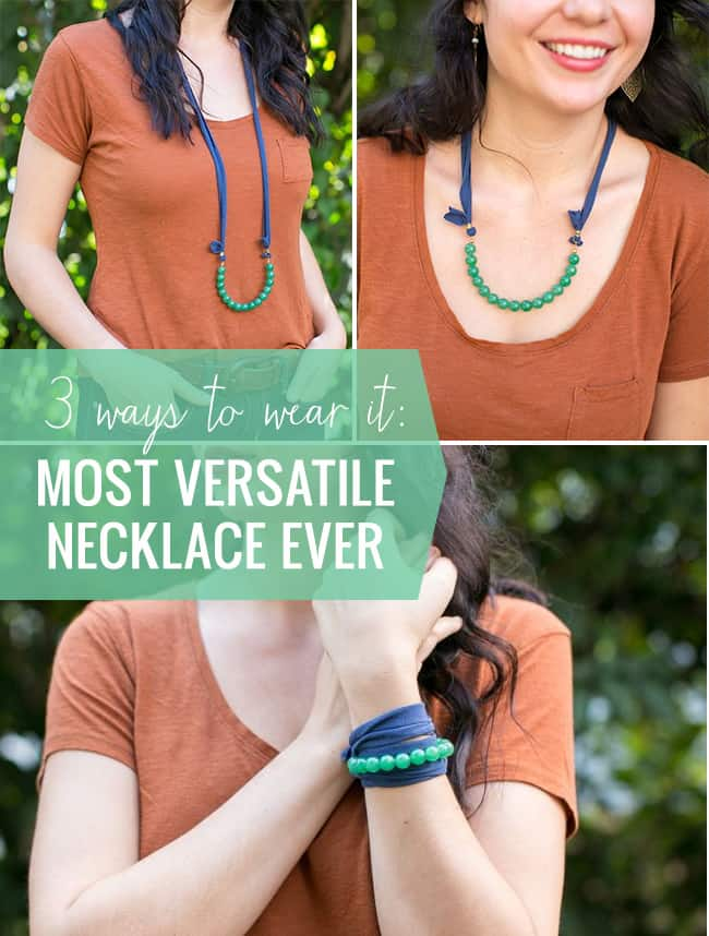 DIY The Most Versatile Necklace Ever