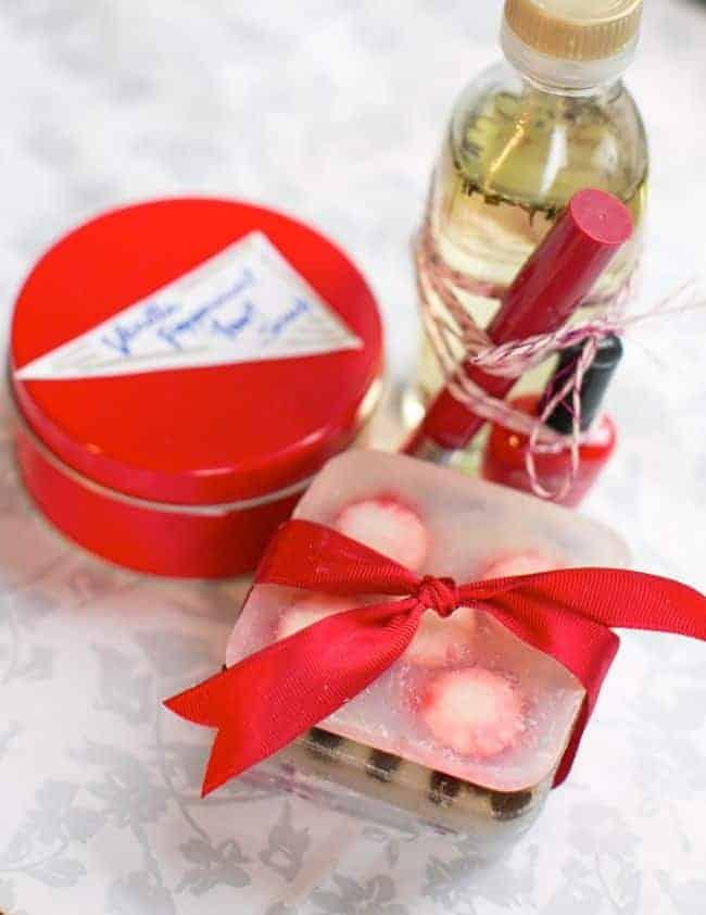 Peppermint Beauty Gift Basket   Hello Natural