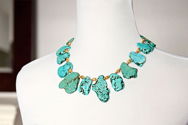 Turquoise necklace | Henry Happened