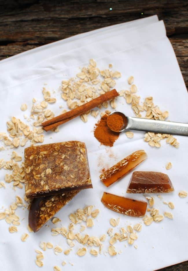 Cinnamon and Oatmeal Soap | Homemade Soap 4 Ways | HelloNatural.co