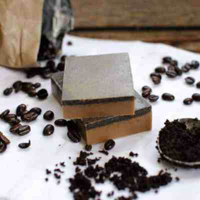 Exfoliating Coffee Soap | HelloNatural.co