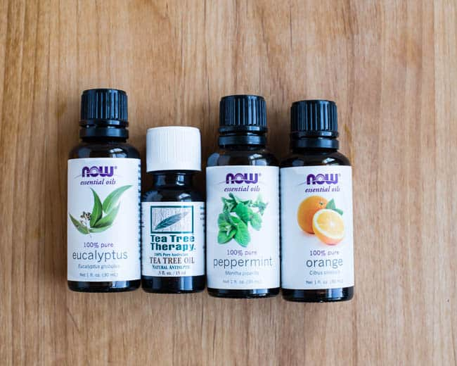 essential oils to naturally get rid of pests