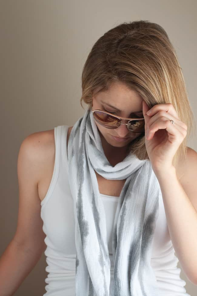 DIY Striped Scarf | Henry Happened