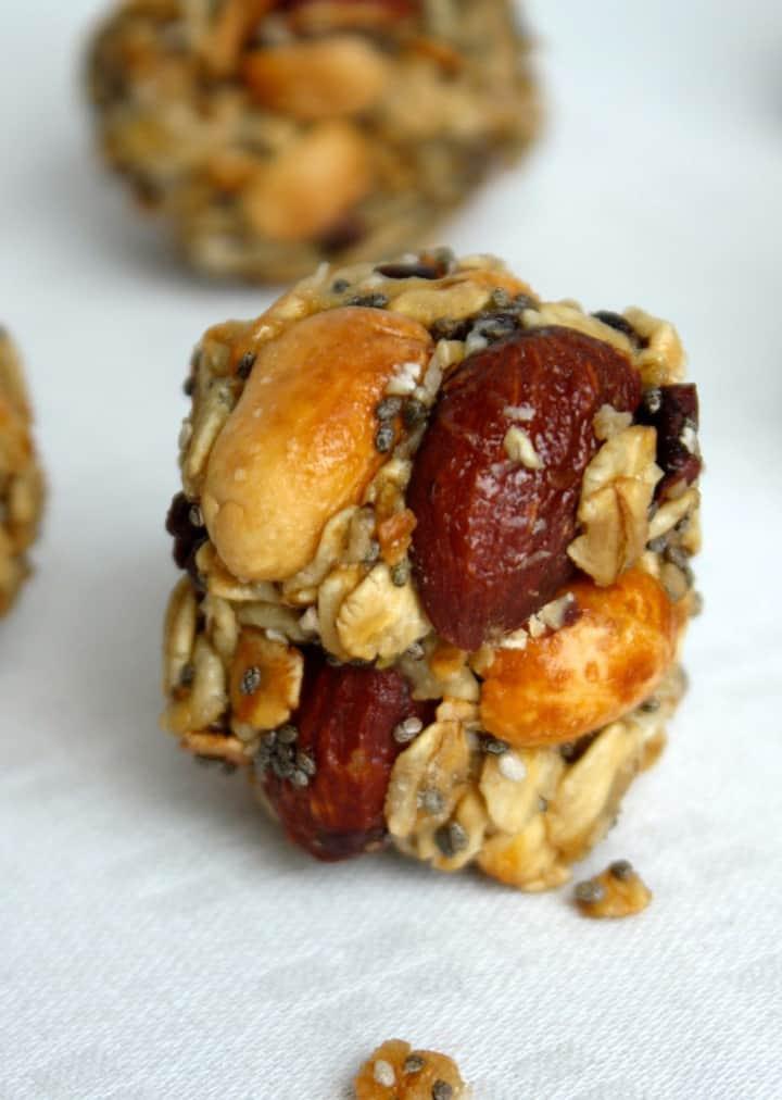 Gluten Free Vegan Granola Energy Bites