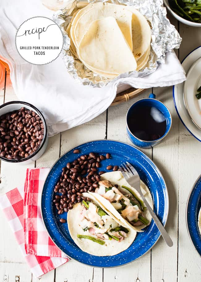 Healthy Grilled Tacos | HelloNatural.co