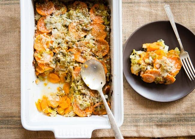 Healthy Sweet Potato Gratin   HelloNatural.co