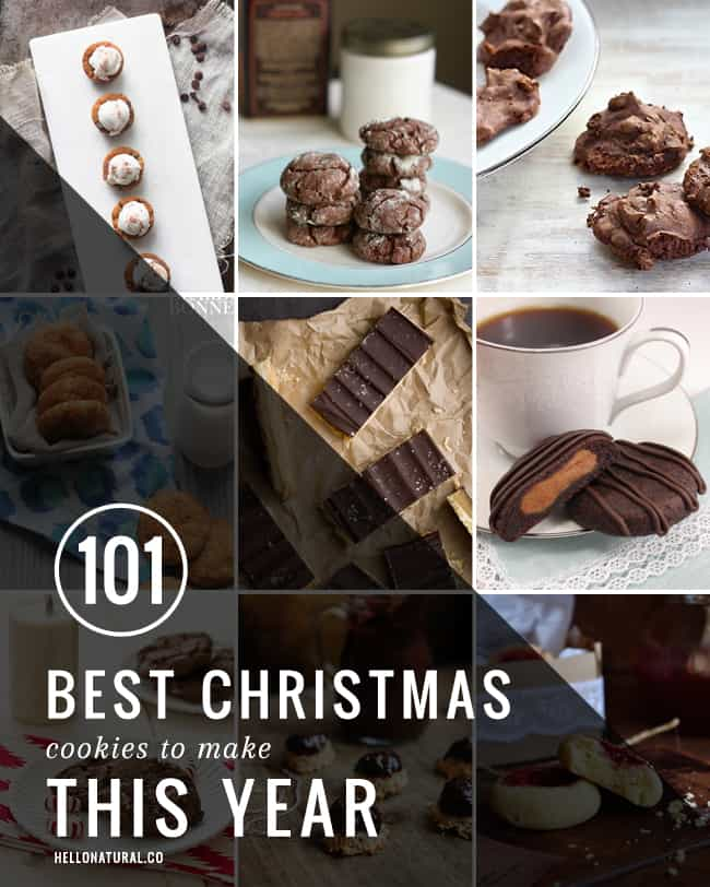 101 Best Christmas Cookies to Make This Year | HelloNatural.co
