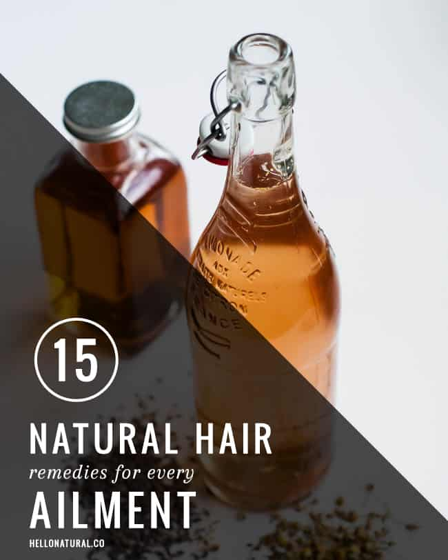 15 Natural Hair Remedies for Every Ailment | HelloNatural.co