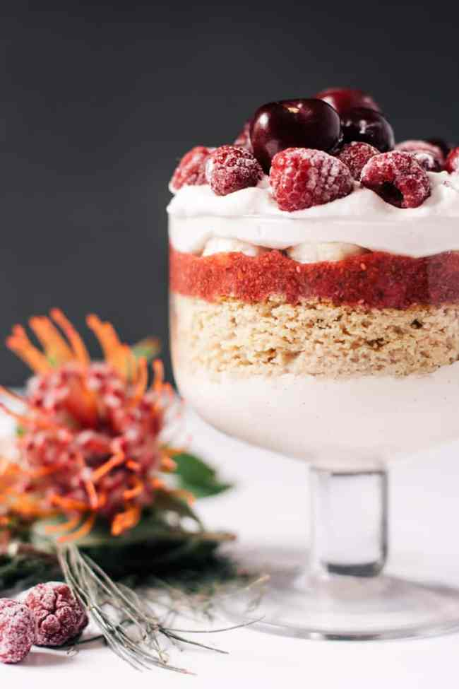 Healthy Holiday Trifle   HelloNatural.co