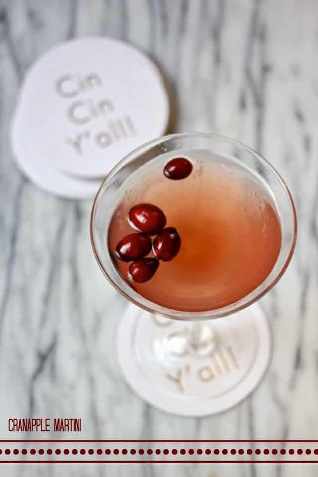 Cranapple Martini