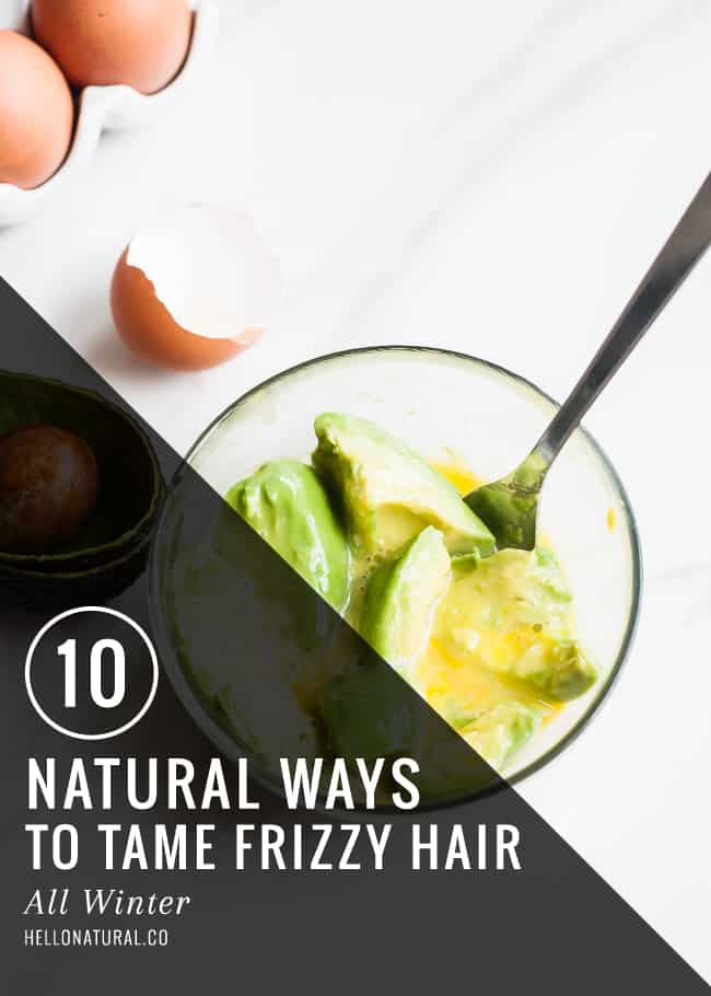 10 Natural Ways to Tame Frizzy Hair   HelloNatural.co