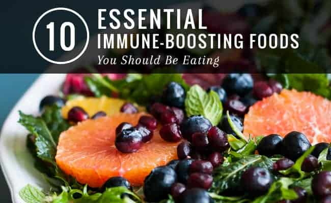 10 Immune Boosting Foods   HelloNatural.co