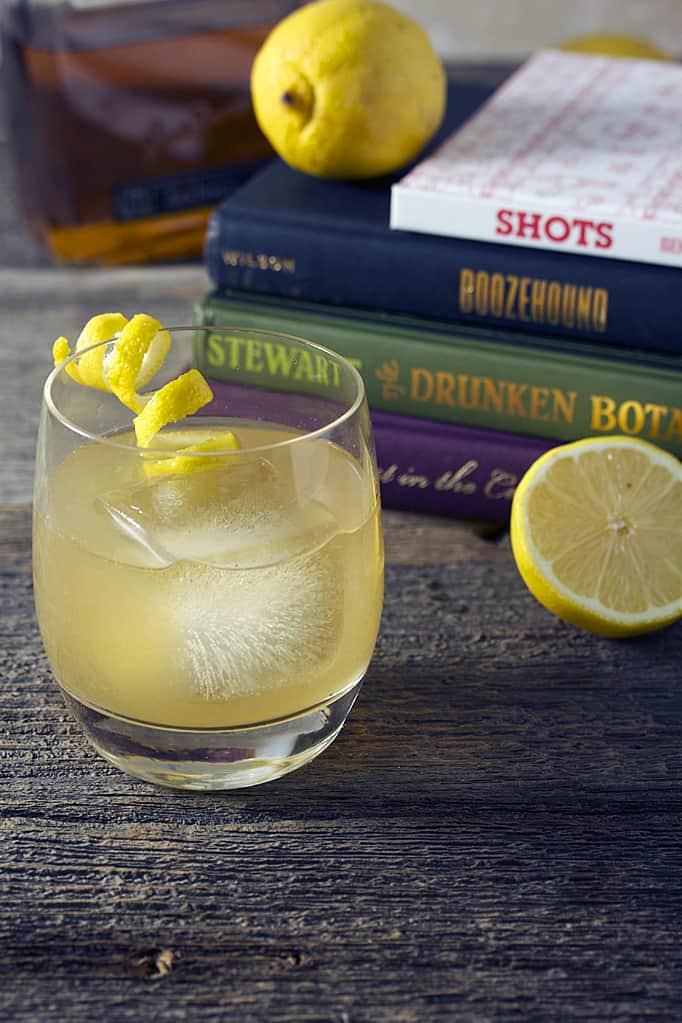 Ginger Whiskey Sour