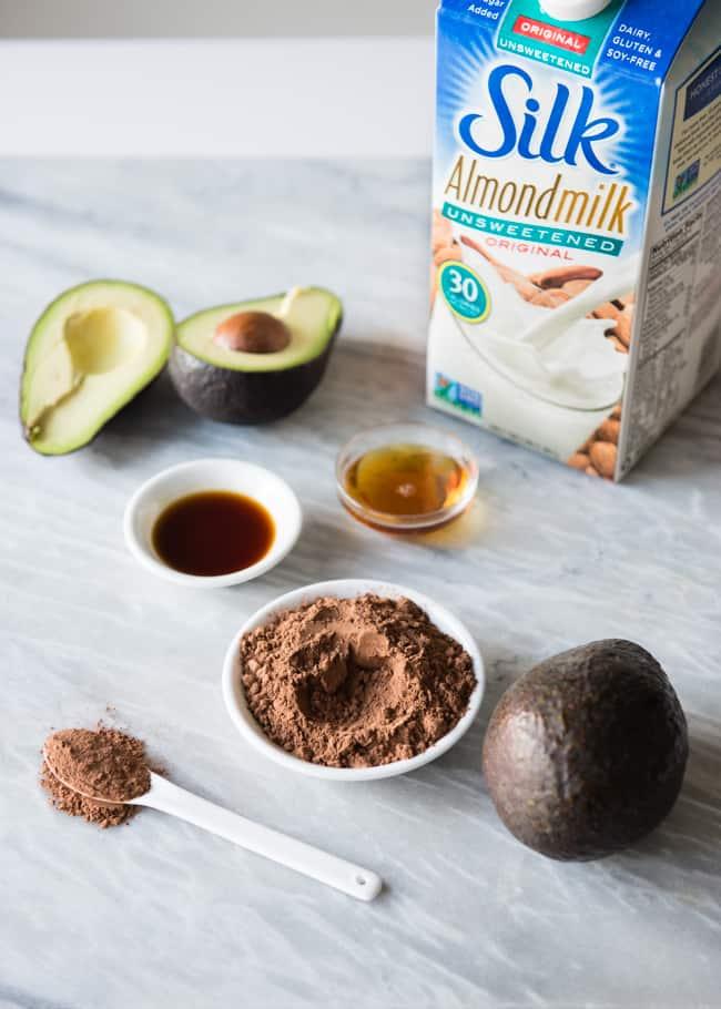 Dark Chocolate Avocado Pudding