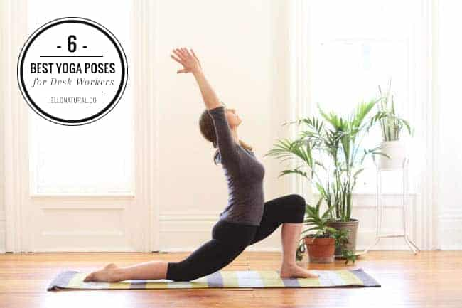 6 Best Yoga Poses for Desk Workers | Hello Glow