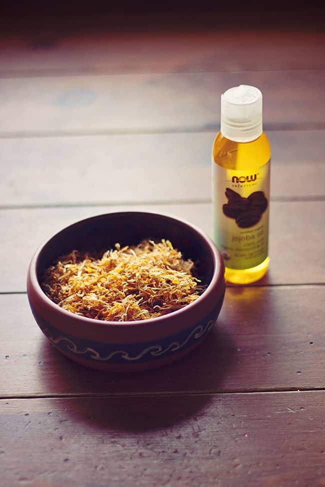 Skin healing calendula oil | Hello Natural