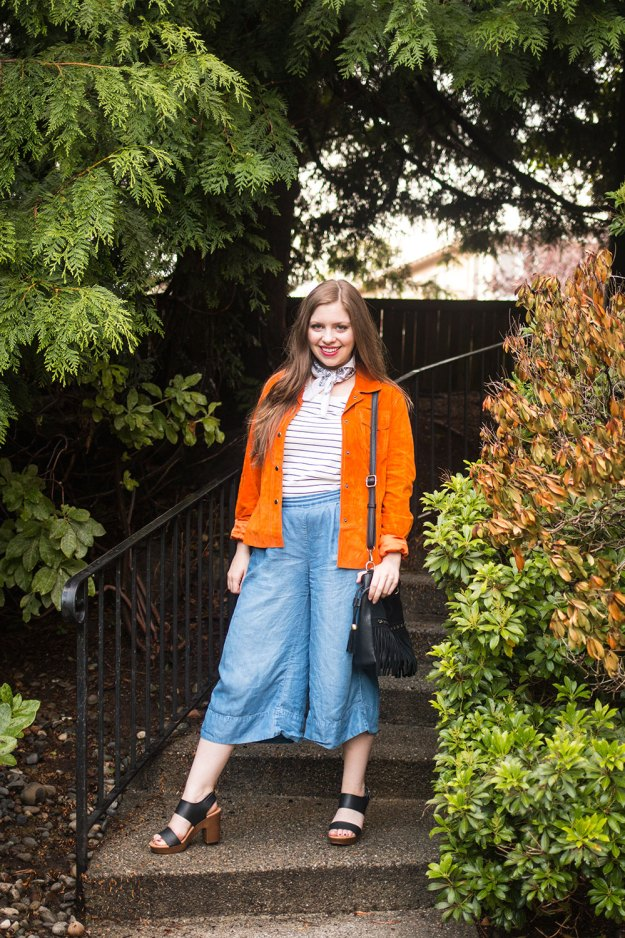 How to Wear Culottes for Fall // Hello Rigby Seattle Fashion Blog