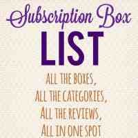 Subscription Box List & Directory