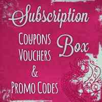 Subscription Box Coupons and Promo Codes