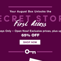 August Julep Secret Store Open + $15 Free Items Code