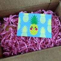 My Craft In A Box Review - July 2015 - Pineapple!