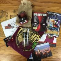 Geek Fuel May 2016 Subscription Box Review & Coupon - Still Available!