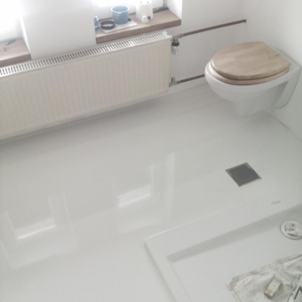 Epoxy floor bathroom gurus floor