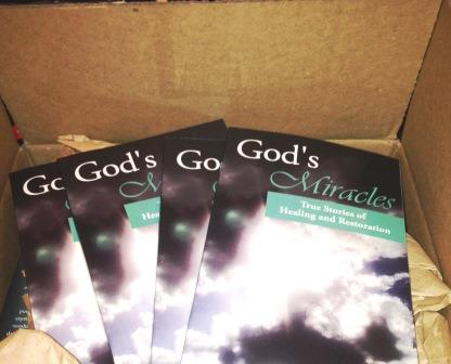 Book God's Miracles with Heloise Ridley