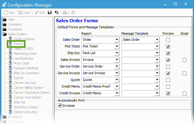 Default Forms and Email Templates Acctivate Help