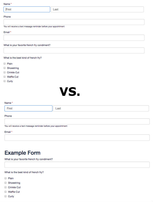 Client Intake Forms  Agreements \u2013 Acuity Scheduling
