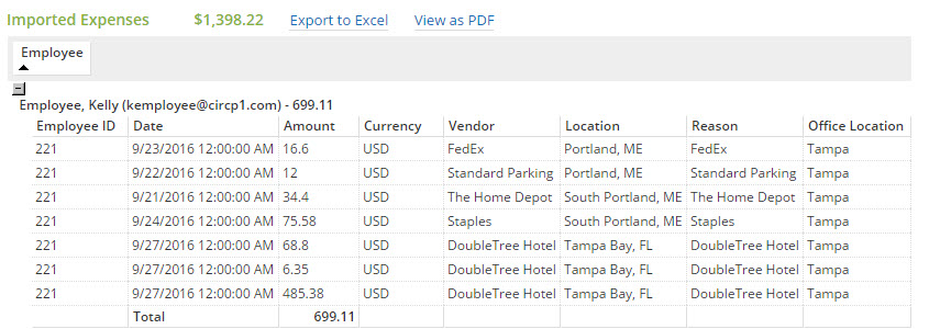 Expense Reports Pending \u2013 Certify Help Center - expense reports