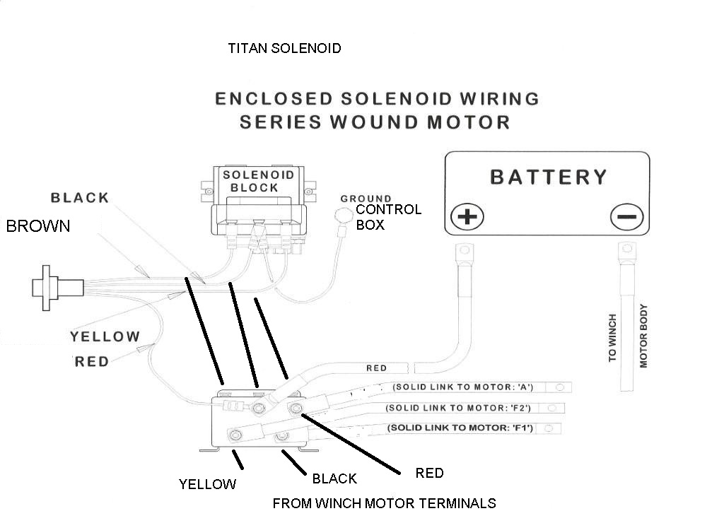 Atv Winch Solenoid Wiring Diagram Schematic Diagram Electronic