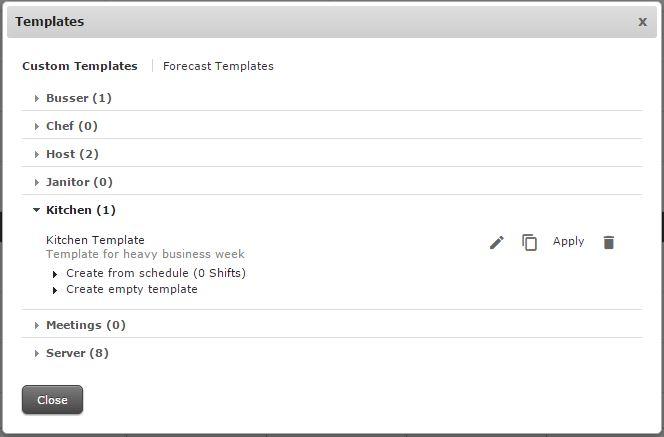 HS - Scheduler - Generating Templates \u2013 Customer Care