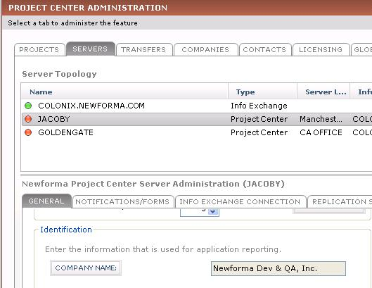 Project Center Tenth Edition Help - company forms templates
